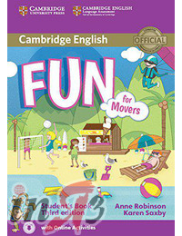 Fun for Movers (third edition): Student's Book with Audio with Online Activities